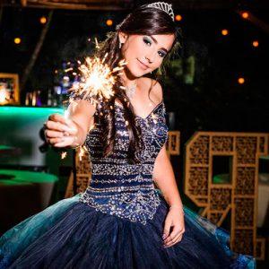 Bengalas Largas Para Fotografía De Fiestas De 15 Años
