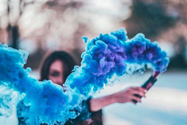 Bombas de Humo de Color para Fotografía Artística