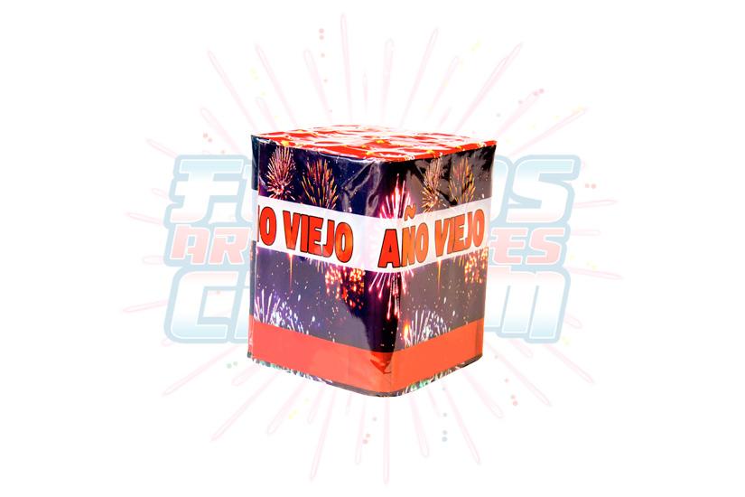 Catálogo, Pólvora Menuda, Caja Multicolor Año Viejo 25 Tiros, Fuegos Artificiales CR