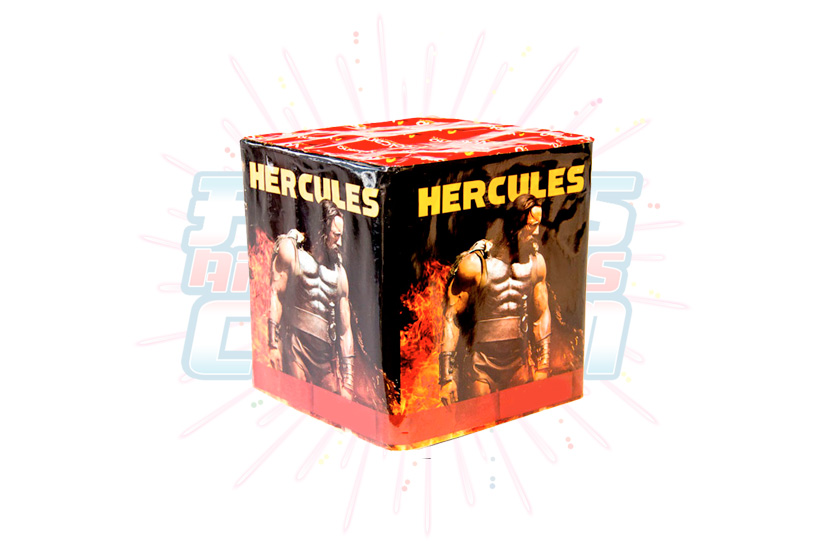Catálogo, Pólvora Menuda, Caja Multicolor Hercules 36 Tiros, Fuegos Artificiales CR