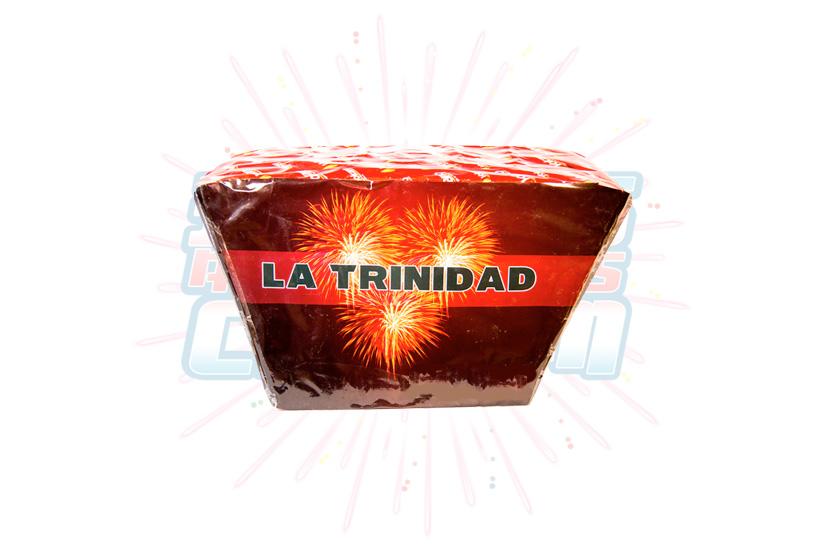 Catálogo, Pólvora Menuda, Caja Multicolor La Trinidad 49 Tiros Abanico, Fuegos Artificiales CR