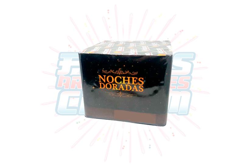 Catálogo, Pólvora Menuda, Caja Multicolor Noches Doradas 36 Tiros, Fuegos Artificiales CR