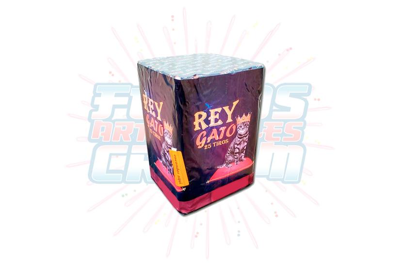 Catálogo, Pólvora Menuda, Caja Multicolor Rey Gato 25 Tiros, Fuegos Artificiales CR
