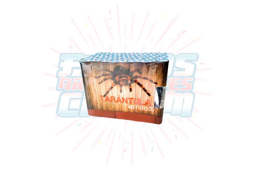 Catálogo, Pólvora Menuda, Caja Multicolor Tarántula 40 Tiros, Fuegos Artificiales CR