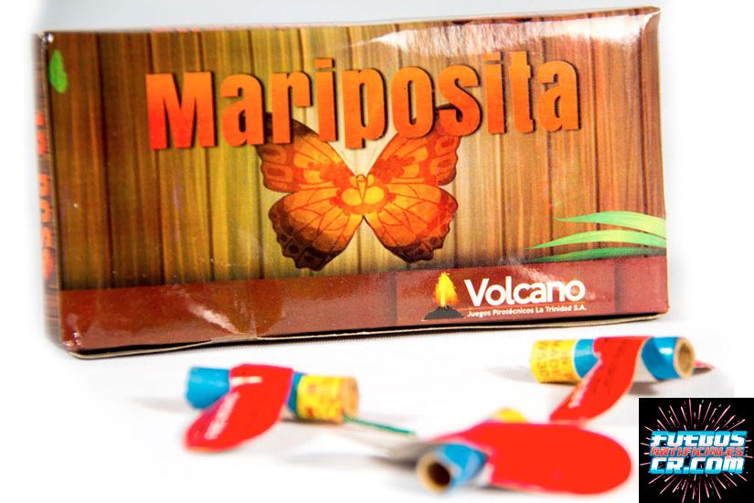 Catálogo, Pólvora en Costa Rica, Fuegos Artificiales, Mariposa Pequeña