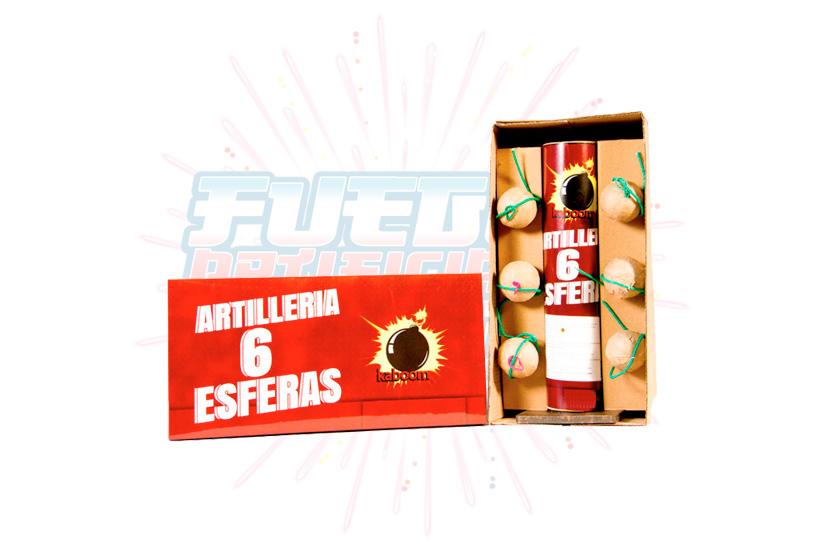 Artillería 6 Esferas