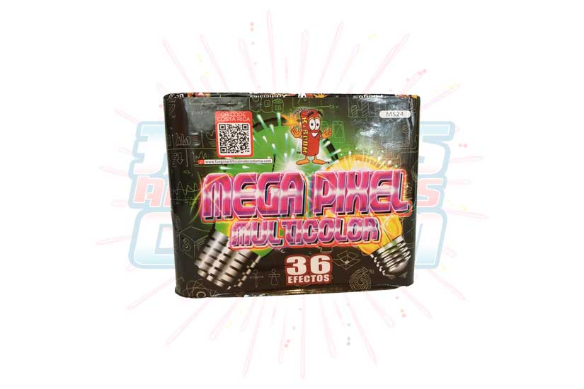 Mega Pixel Multicolor 36 Tiros
