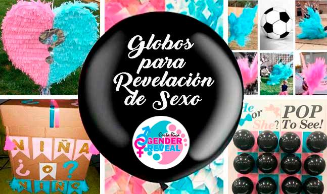 Costa Rica Gender Reveal, Productos para revelación de sexo del bebé en Costa Rica