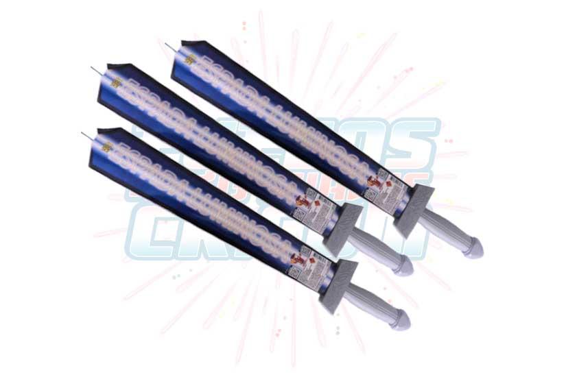 Catálogo, Pólvora Menuda, Espada Luminosa, Fuegos Artificiales CR