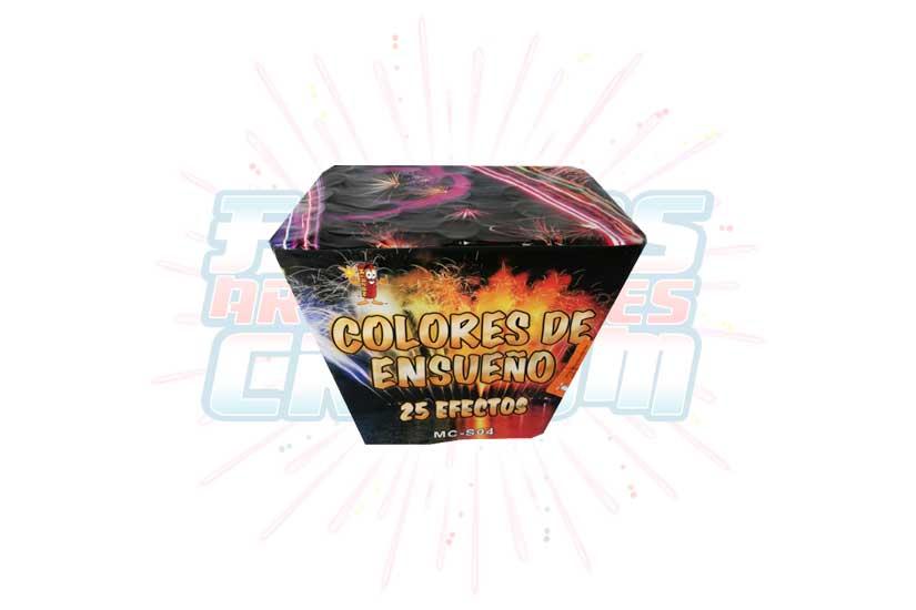 Colores De Ensueño Abanico 25 Tiros