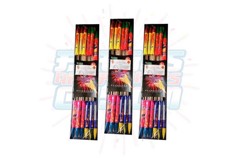 Mini Cohete Multicolor